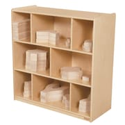 "Wood Designs 36"" x 36"" Plywood Block Center and Storage Kit"