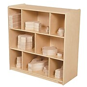 """Wood Designs 36"""" x 36"""" Plywood Block Center and Storage Kit"""