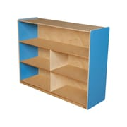 "Wood Designs™ Storage 36""H Versatile Shelf Storage, Blueberry"