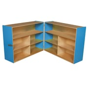"Wood Designs™ Storage 36""H Folding Versatile Storage, Blueberry"