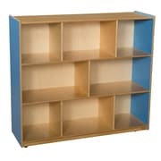"Wood Designs™ Storage 42""H Mobile Storage Unit, Blueberry"