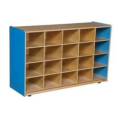 Wood Designs 20 Tray Storage Without Trays, Blueberry