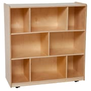 "Wood Designs™ Storage 36""H Center Storage Unit, Birch"