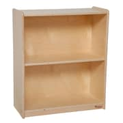 "Wood Designs™ Storage 28""H Plywood Small Bookcase, Birch"