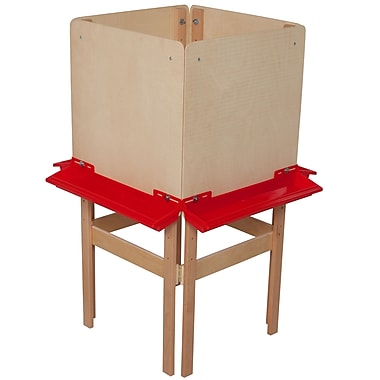 Wood Designs™ Art 4 Side Easel With Plywood, Birch