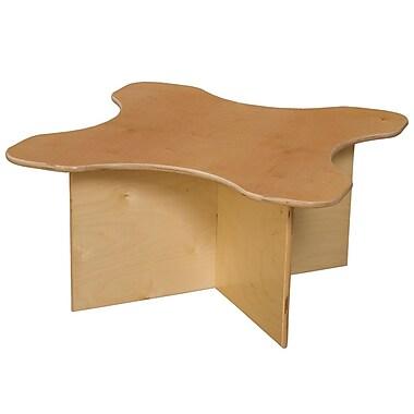 Wood Designs Tot Transition 30'' Irregular Table, Birch (WD21810)