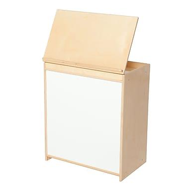 Wood Designs Literacy 24'' 1-Shelf Bookcase, Light Wood (WD24100)