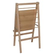 """Wood Designs™ Literacy 48""""(H) Plywood Big Book Easel and Hanging Storage"""