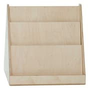 "Tot Furniture™ 24""(H) Fully Assembled Plywood Tot-Size Double-Sided Book Display"