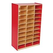 Wood Designs™ Mailbox Center, Strawberry Red