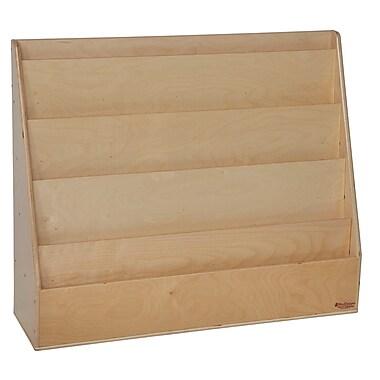 Wood Designs Literacy 30'' 5-Shelf Bookcase, Light Wood (WD34300)