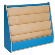 Wood Designs Literacy 30'' 5-Shelf Bookcase, Blue (WD34300B)