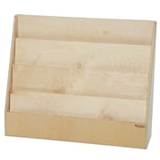 """Wood Designs™ Literacy 28""""(H) Fully Assembled Plywood Big Book Display Stand"""