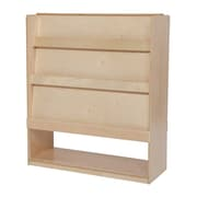 """Wood Designs™ Literacy 42""""(H) Fully Assembled Plywood Deluxe Double-Sided Library"""