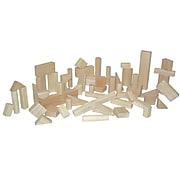 Wood Designs™ Hardwood Toddler Basic Block Set, 56-Pieces