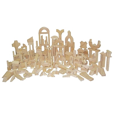 Wood Designs™ Hardwood Classroom Block Set, 372 Pieces