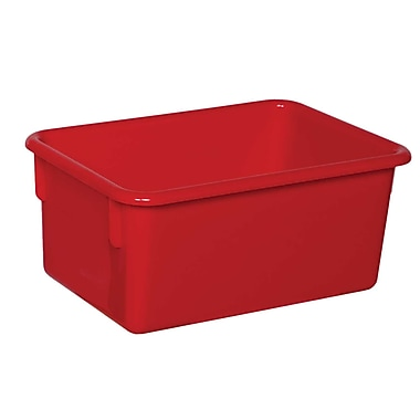 Wood Designs™ Plastic Cubby Tray, Red