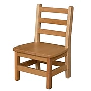 "Wood Designs™ 10""(H) Hardwood Chair, 2/Pack"