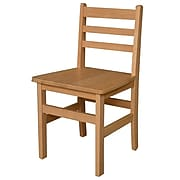 "Wood Designs™ 18""(H) Hardwood Chair, 2/Pack"