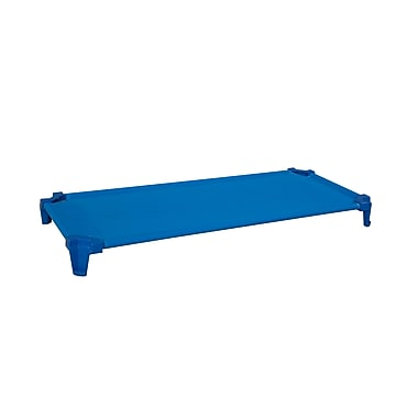 Wood Designs™ Single Assembled Absolute Best Space Saving Cot, Solid Blue