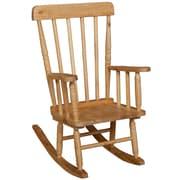 "Wood Designs 10""(H) Hardwood Child's Rugged Rocker"