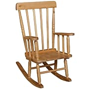 "Wood Designs™ 10""(H) Hardwood Child's Rugged Rocker"