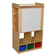 Wood Designs™ Store-It-All Teaching Center With Assorted Trays