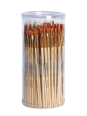 Dynasty® Taklon Paint Brush Set, 144/Pack