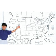 Pacon Learning Walls®, United States Map, 48 x 72""