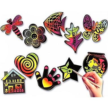 Melissa & Doug® Scratch-Art® Creative Shapes, 50/Pack