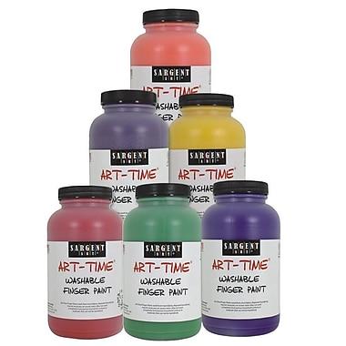 Color Splash® Sargent Art® 16 oz. Washable Finger Paint, Assorted Colors
