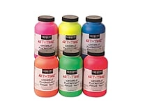 Sargent Art® 16 oz. Washable Fluorescent Finger Paint