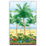 S&S SL5341 40' x 4' Straight Palm Tree Room Roll, Multicolor