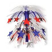 "S&S® 18"" x 10"" Patriotic Cascade Centerpiece, 6/Pack"