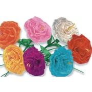 S&S® Festive Paper Flowers, 24/Pack