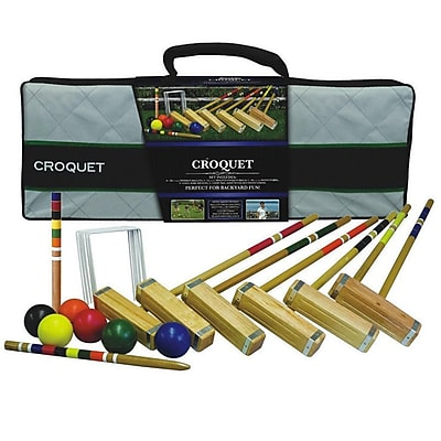 Franklin® Advanced Six-Player Croquet Set