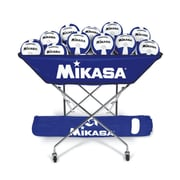 Mikasa® Hammock-Style Volleyball Cart, Royal Blue