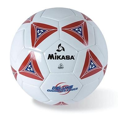 Mikasa® Varsity Series Soft Soccer Ball, Size 5, Red/Blue/White