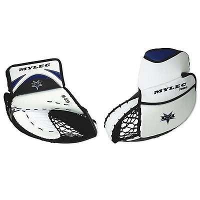 Mylec® Pro Series Goalie Catch Glove, Full Right Junior, Black