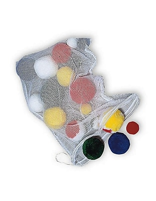 Spectrum Fleece Ball, Assorted, 18/Pack 836881