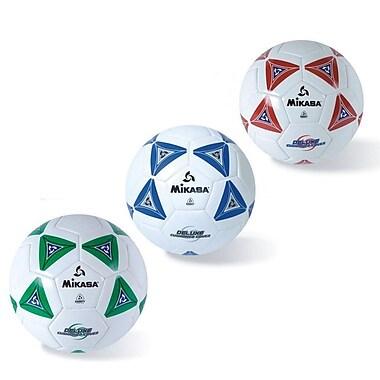 Mikasa® Varsity Series Soft Soccer Ball, Size 5, Green/Blue/White