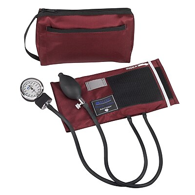 Briggs Healthcare Sphygmomanometers Kit Burgundy