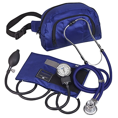 Briggs Healthcare MatchMates Fanny Pack Combination Kit Royal Blue