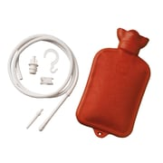 Briggs Healthcare Combination Douche and Enema System with Water Bottle Red