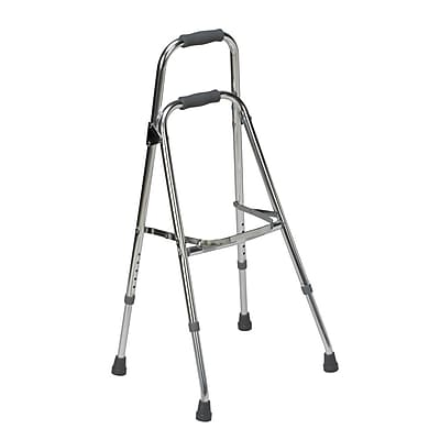 Briggs Healthcare Folding Aluminum Hemi-Walker Chrome