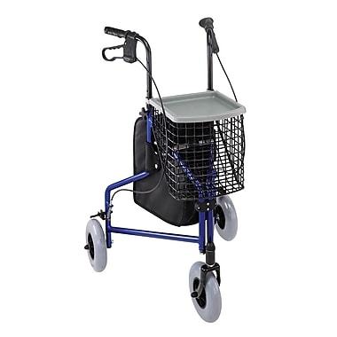 Briggs Healthcare Aluminum Rollator Royal Blue