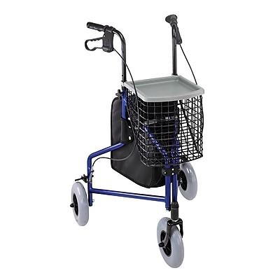 Briggs Healthcare Aluminum Rollator Royal Blue