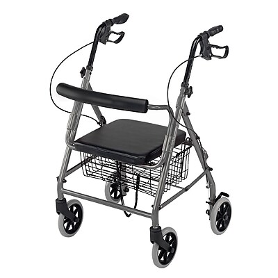 Briggs Healthcare Hemi Aluminum Rollator Tan