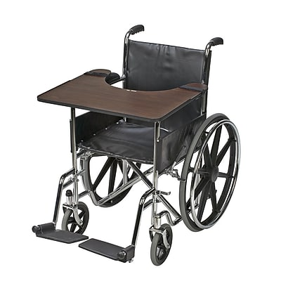 Briggs Healthcare Wheelchair Tray Hardwood