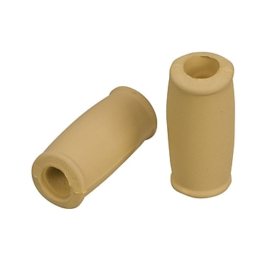 Briggs Healthcare Crutch Hand Grips, Closed-Style Brown